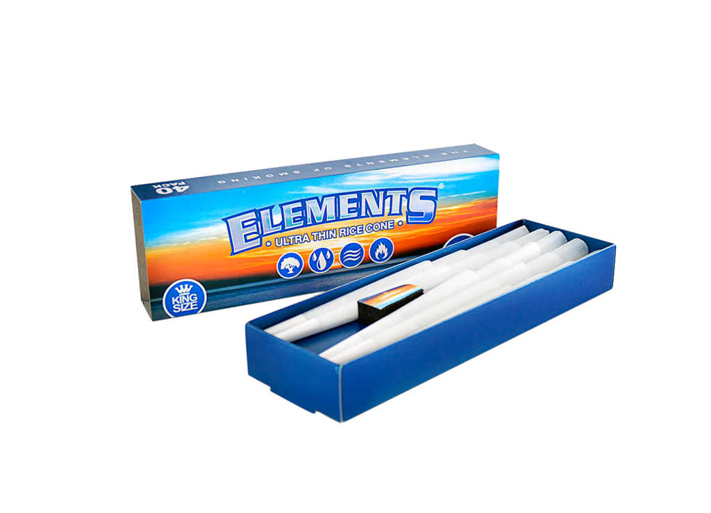ELEMENTS® KING SIZE CONES 40-PACK