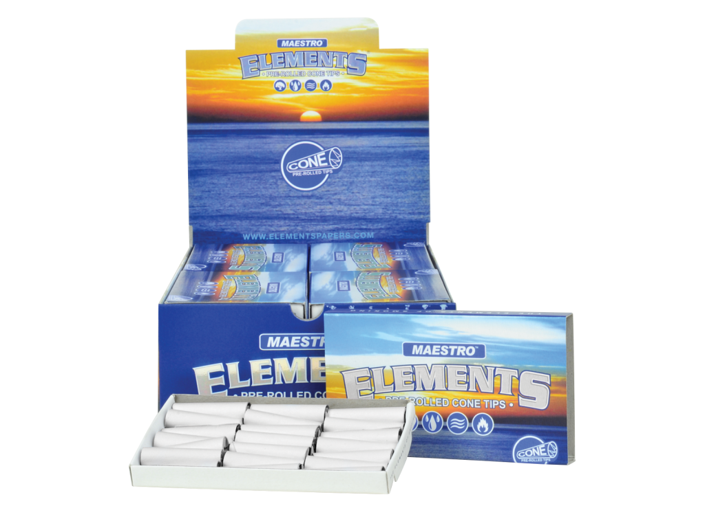 ELEMENTS® PERFECTO PRE-ROLLED CONE TIPS