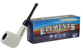 ELEMENTS-PIPE-White