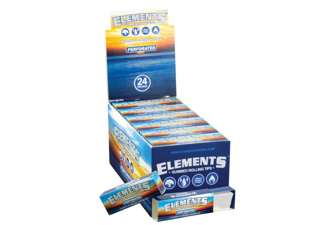 ELEMENTS® PERFORATED GUMMED TIPS