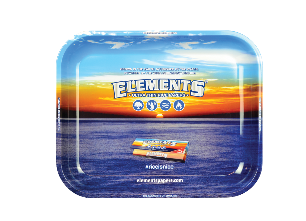 ELEMENTS® ROLLING TRAY - LARGE