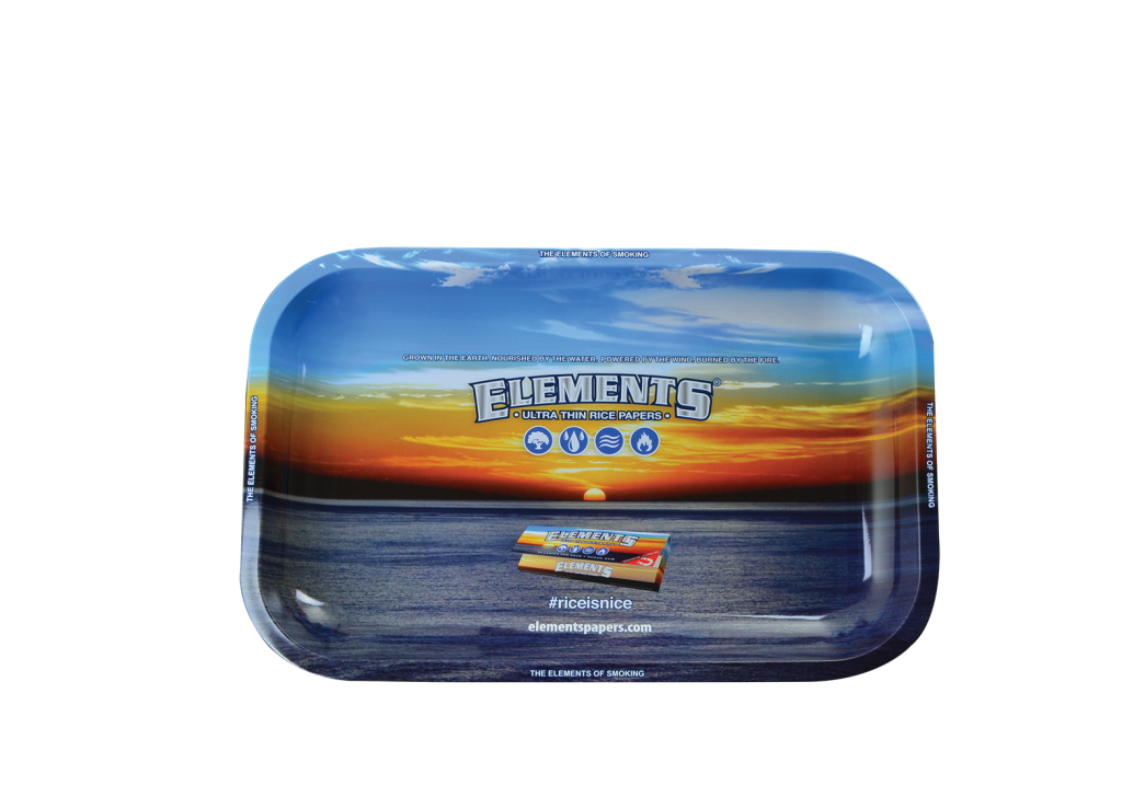 ELEMENTS® ROLLING TRAY - SMALL