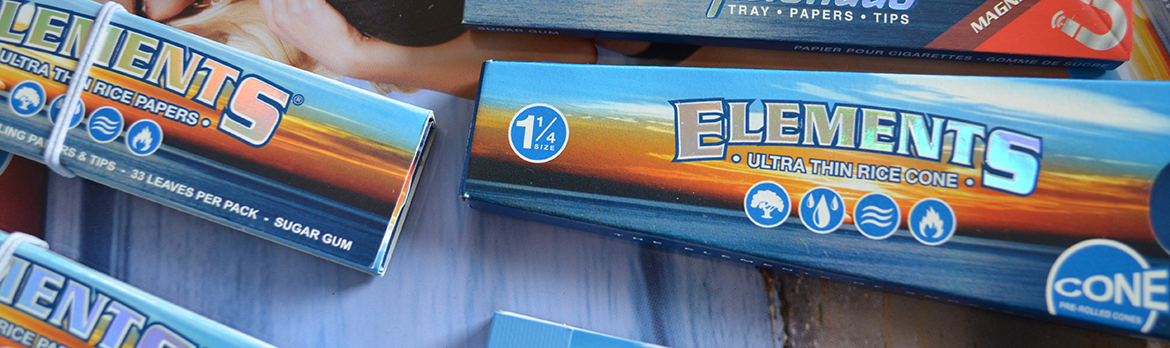 Elements Rolling Papers and RYO Accessories |