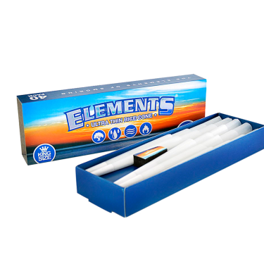 Elements® King Size Cone 40 pack