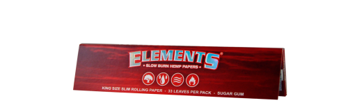 ELEMENTS® RED KINGSIZE SLIM