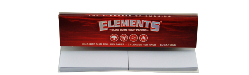 ELEMENTS<sup>®</sup> RED CONNOISSEUR KING SIZE SLIM